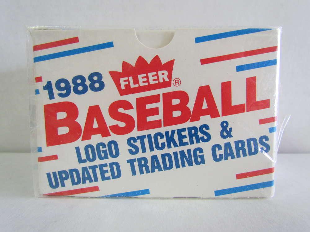 1988 Fleer Update Baseball Set