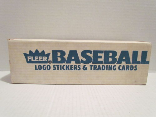 1987 Fleer Baseball Factory Set (No Seal)