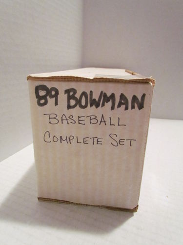 1989 Bowman Baseball Set
