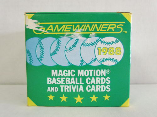 1988 Sportflics Gamewinners Baseball Set