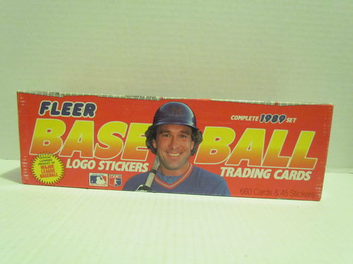 1989 Fleer Baseball Retail Set (No shrinkwrap)