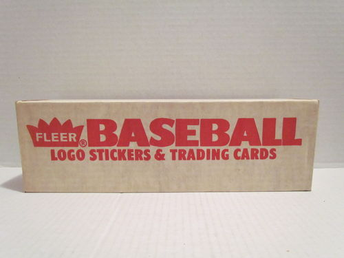 1989 Fleer Baseball Factory Set (Seal Broken)