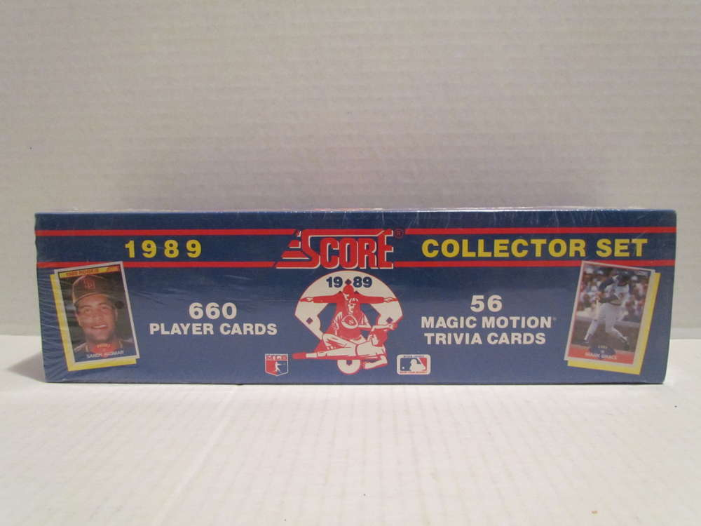 1989 Score Baseball Factory Set