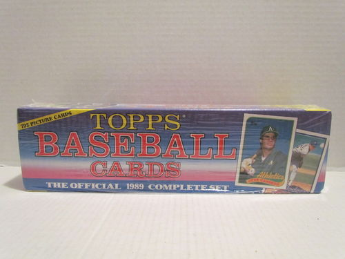 1989 Topps Baseball Factory Set