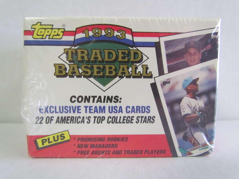 1993 Topps Traded Baseball Factory Set