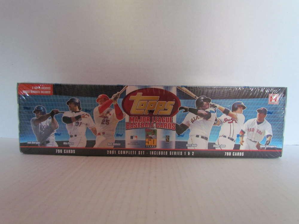 2001 Topps Baseball Hobby Factory Set
