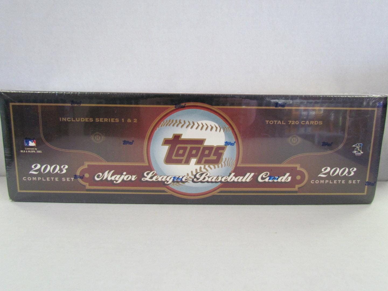 2003 Topps Baseball Hobby Factory Set