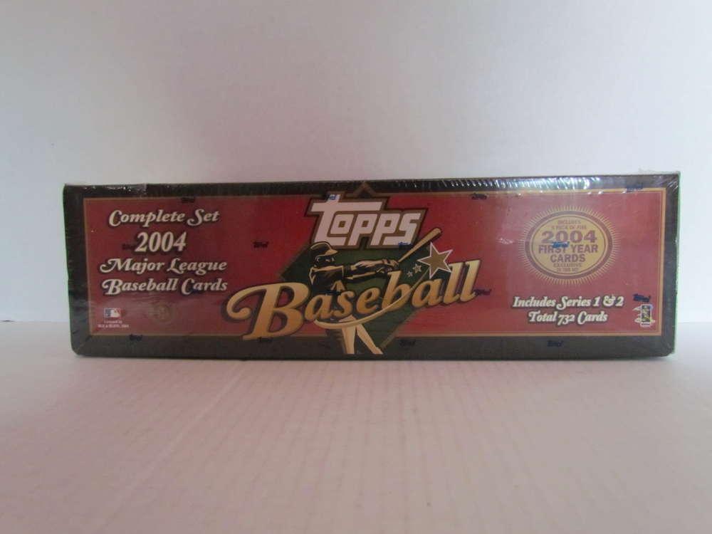 2004 Topps Baseball Hobby Brown Factory Set