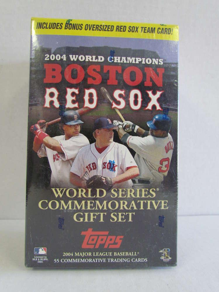 2004 Topps Boston Red Sox World Series Commemorative Gift Set