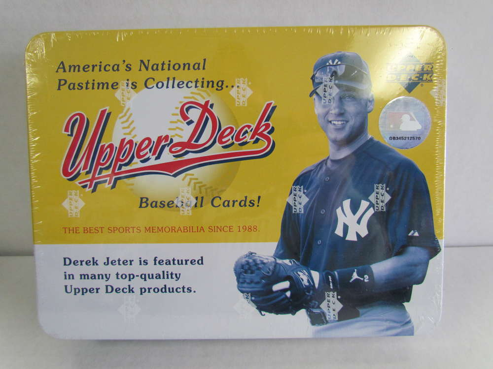 2005 Upper Deck Origins Baseball Hobby Tin Derek Jeter