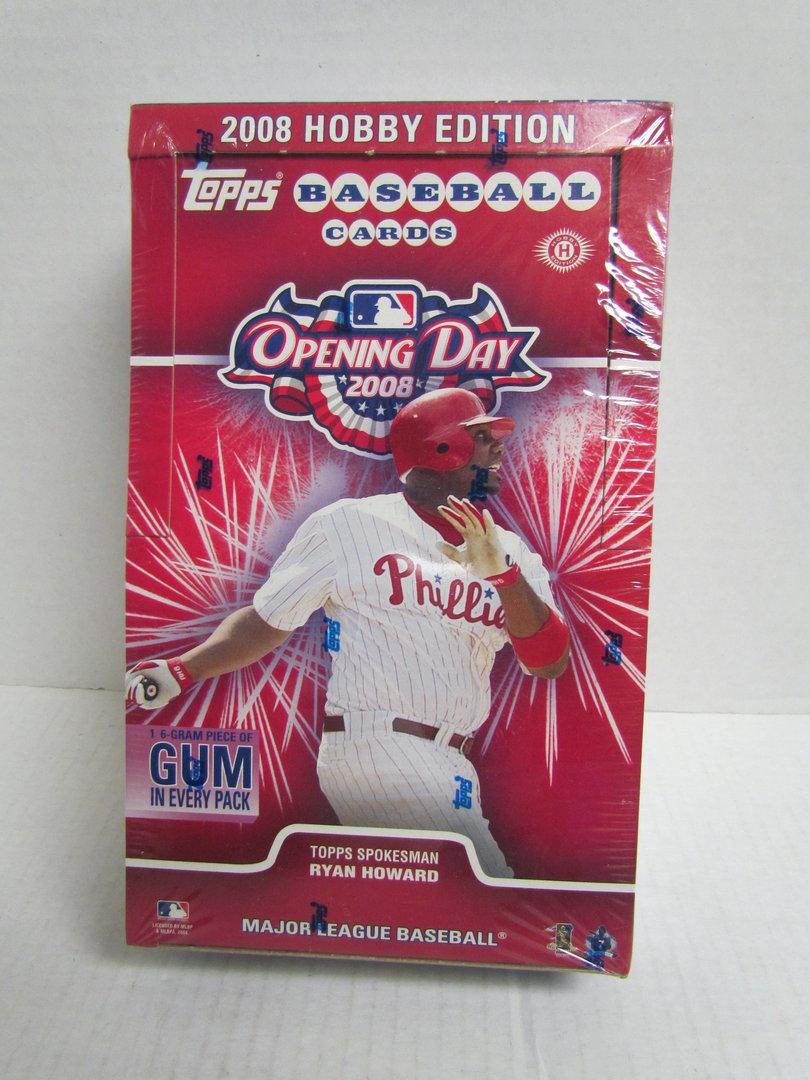 2008 Topps Opening Day Baseball Hobby Box