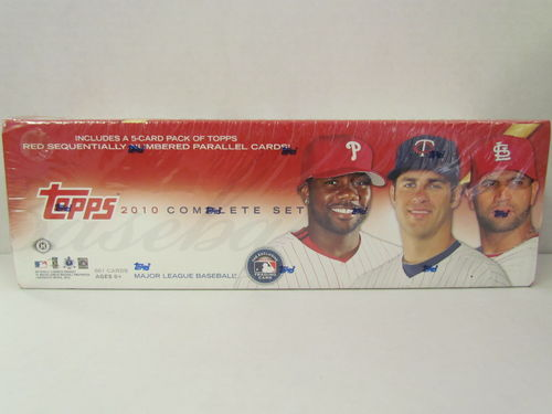 2010 Topps Baseball (Hobby) Factory Set