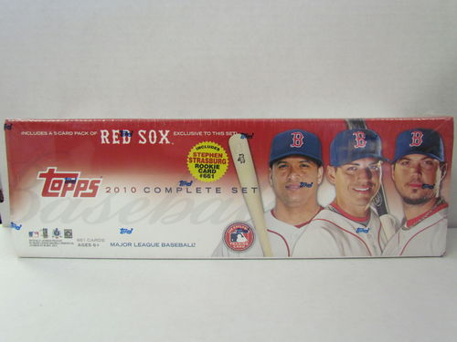 2010 Topps Baseball (Boston Red Sox) Factory Set