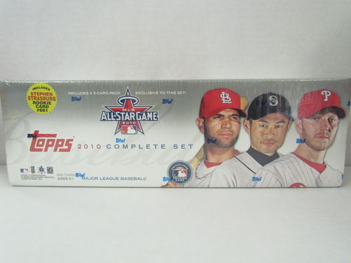 2010 Topps Baseball (All-Star Game) Factory Set