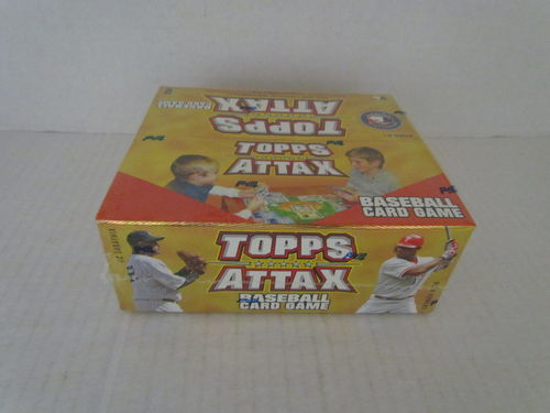 2010 Topps Attax Baseball Box