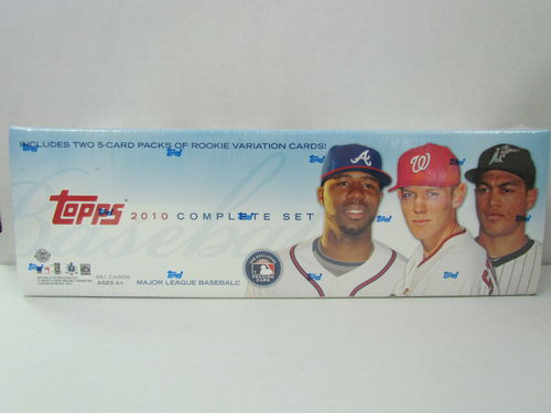 2010 Topps Baseball (Holiday) Factory Set