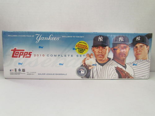 2010 Topps Baseball (New York Yankees) Factory Set