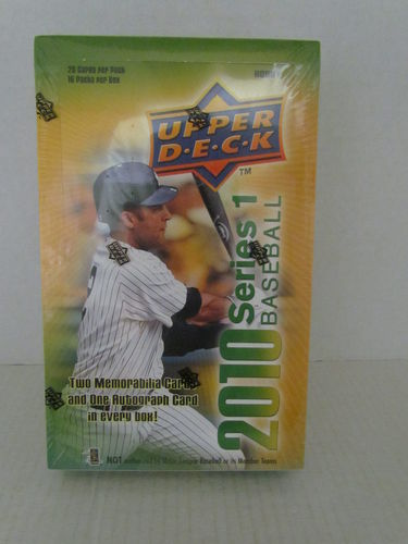2010 Upper Deck Series 1 Baseball Hobby Box