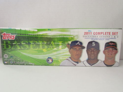2011 Topps Baseball (Holiday) Factory Set