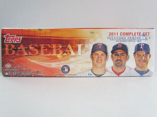 2011 Topps Baseball (Hobby) Factory Set