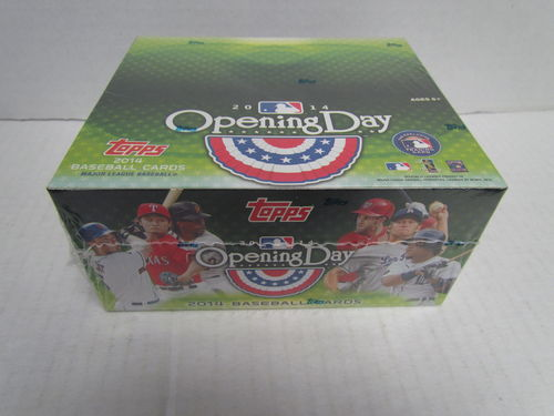 2014 Topps Opening Day Baseball Hobby Box