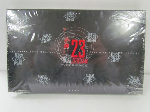 1996 Upper Deck 23 Nights: The Jordan Experience Factory Set