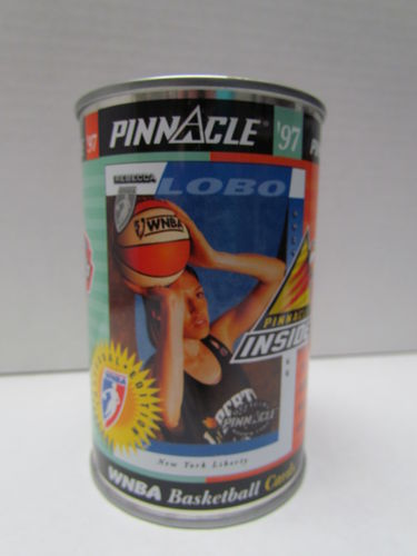 1997 Pinnacle Inside Rebecca Lobo WNBA Promo Can