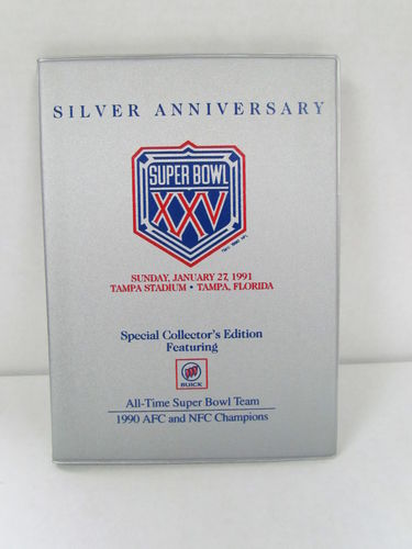 1989 Super Bowl XXIV GTE Special Collector's Edition Binder Set