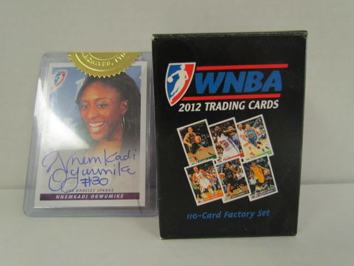 2012 Rittenhouse WNBA Basketball Factory Set