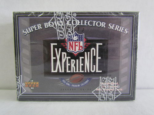 1993 Upper Deck Super Bowl Collector Series NFL Experience Factory Set