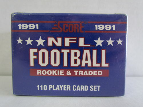 1991 Score NFL Football Rookie & Traded Factory Set