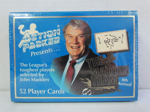 1992 Action Packed 8th Annual All Madden Team Set