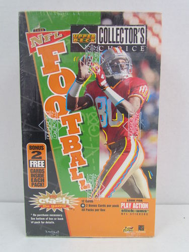 1996 Upper Deck Collector's Choice Series 1 Football Hobby Box