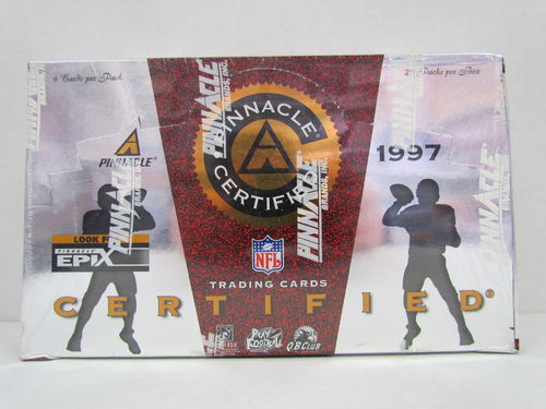 1997 Pinnacle Certified Football Box