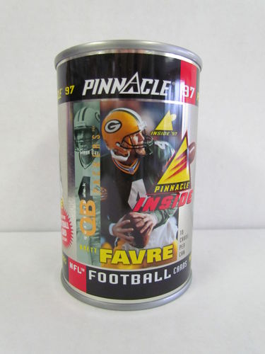 1997 Pinnacle Inside BRETT FAVRE Football Can