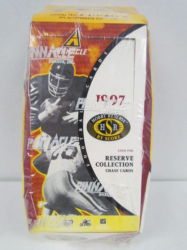 1997 Pinnacle Score Hobby Reserve Football Box