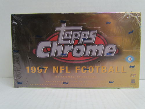 1997 Topps Chrome Football Box