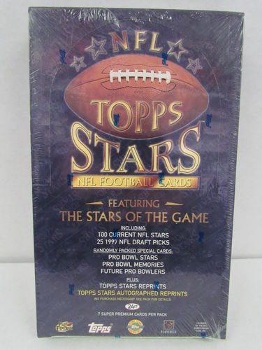1997 Topps Stars Football Hobby Box