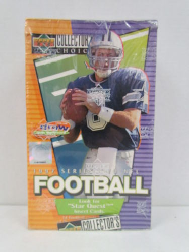1997 Upper Deck Collector's Choice Series 2 Football Hobby Box