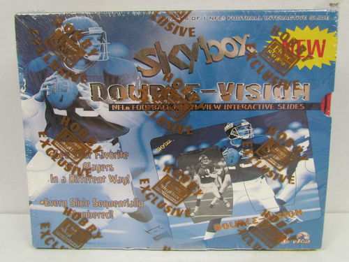 1998 Skybox Double Vision Football Hobby Box