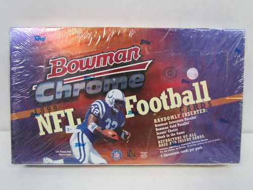 1999 Bowman Chrome Football Hobby Box