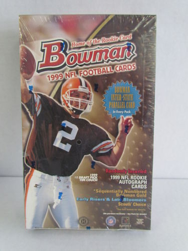 1999 Bowman Football Hobby Box
