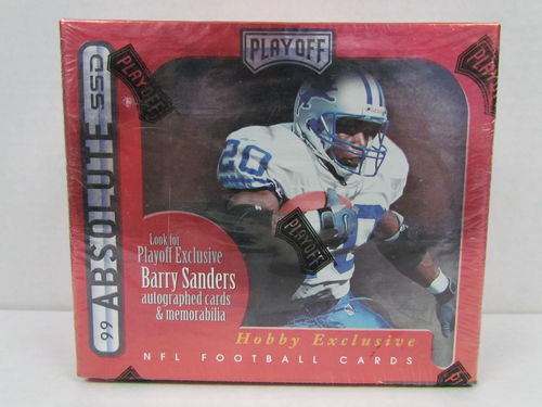 1999 Playoff Absolute Football Hobby Box