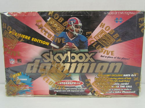 1999 Skybox Dominion Football Hobby Box