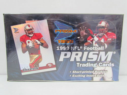 1999 Pacific Prism Football Hobby Box