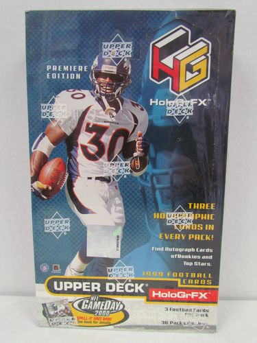 1999 Upper Deck HoloGrFx Football Hobby Box