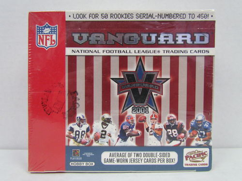 2001 Pacific Vanguard Football Hobby Box