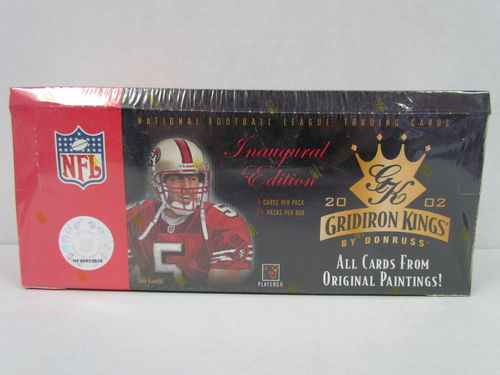 2002 Donruss Gridiron Kings Football Hobby Box