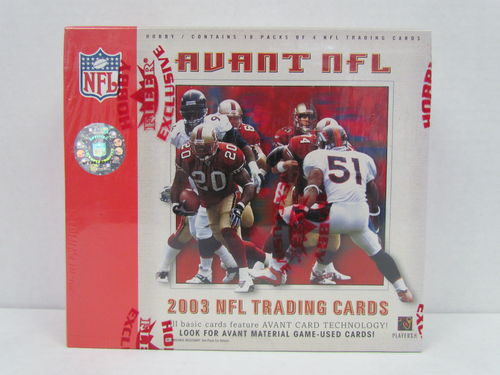 2003 Fleer Avant Football Hobby Box