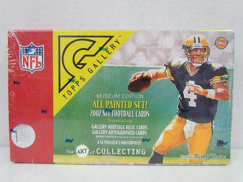 2002 Topps Gallery Football Hobby Box